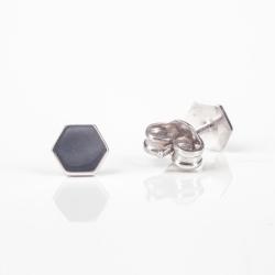 Náušnice Hexagon / MINIMO / AG